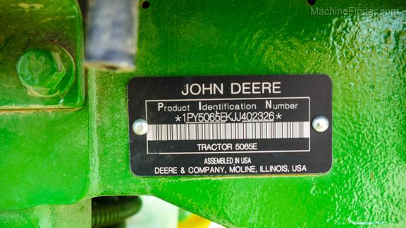 2018 John Deere 5065E-25