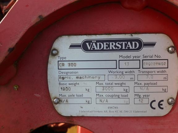 Vaderstad CR 300