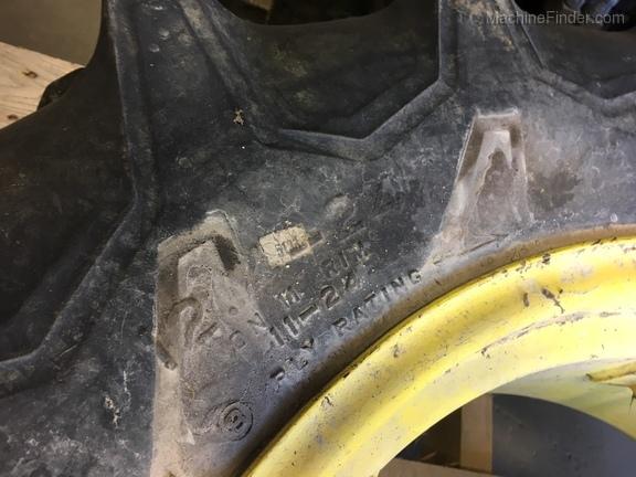 John Deere firestone 12.4 - 24 mfwd T & W