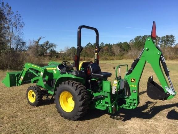 2018 John Deere 3025e Tlb Compact Utility Tractors