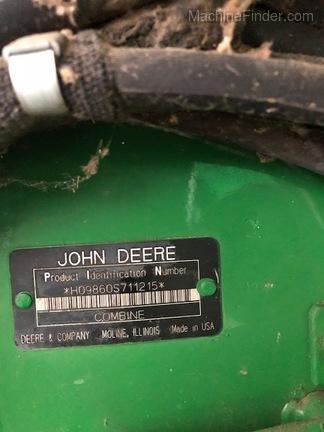 Photo of 2005 John Deere 9860 STS