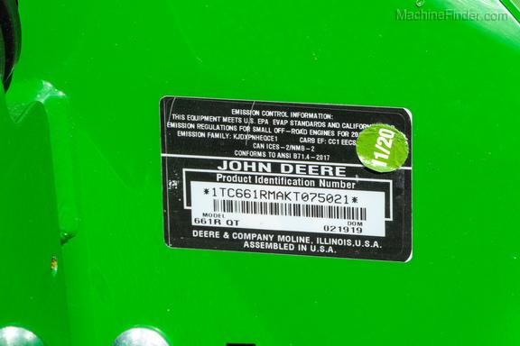 2018 John Deere 661r-19
