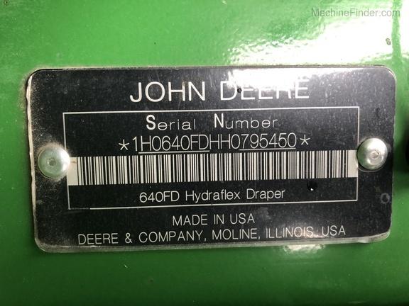 Photo of 2017 John Deere 640FD
