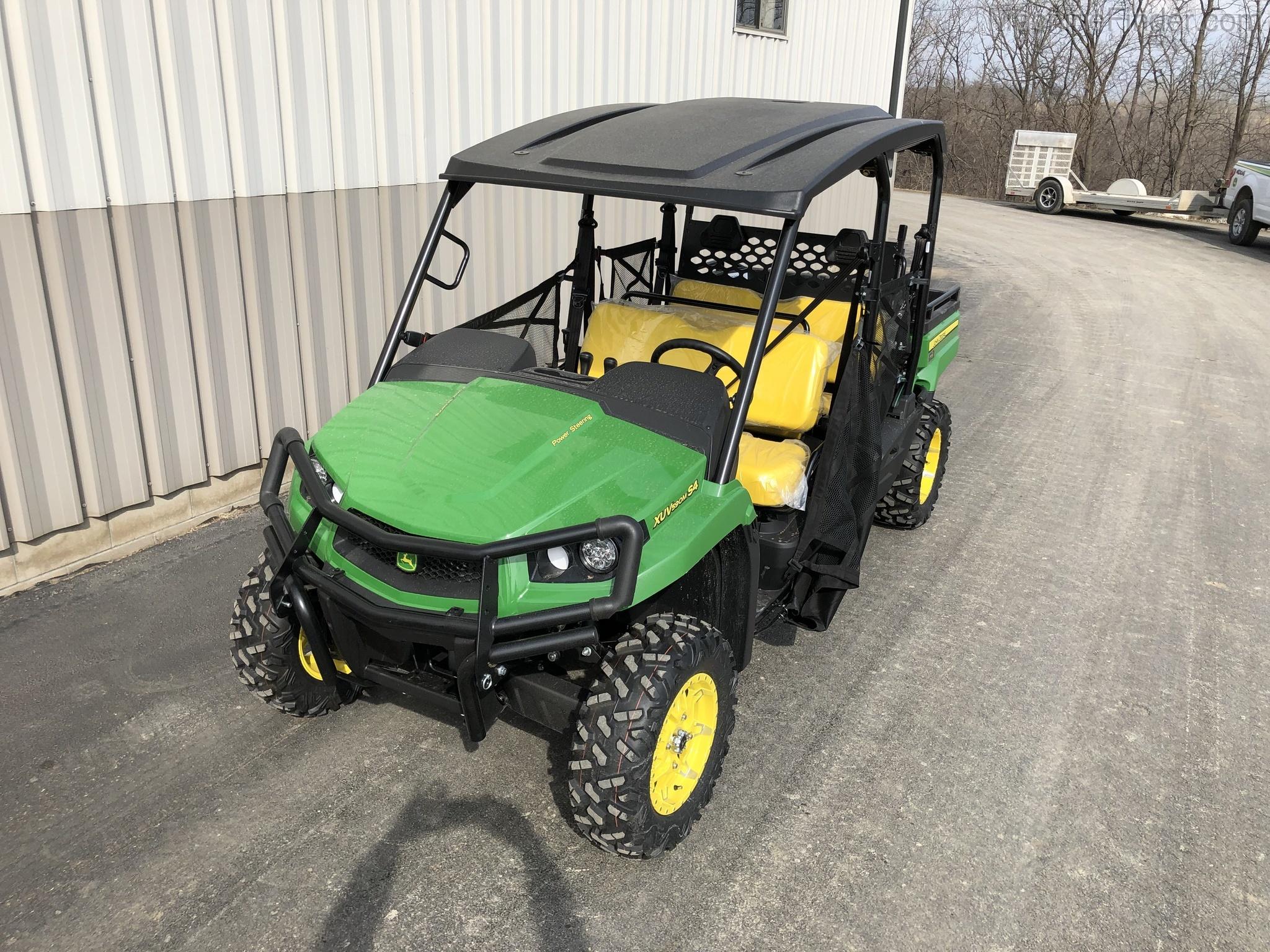 Equipment Details 2019 John Deere Xuv590m S4