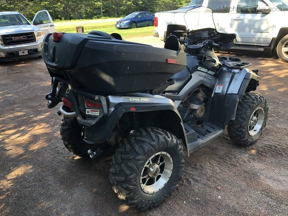 2012 Can-Am OUTLANDER MAX XT 650 Image 4