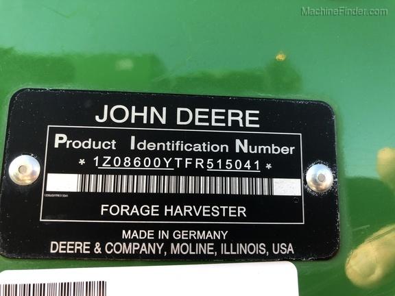 Photo of 2016 John Deere 8600
