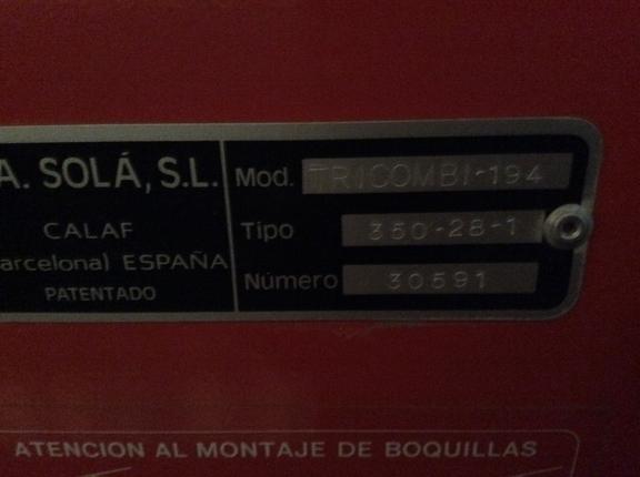 Other SOLA TRICOMBI-194  3,5 Metros