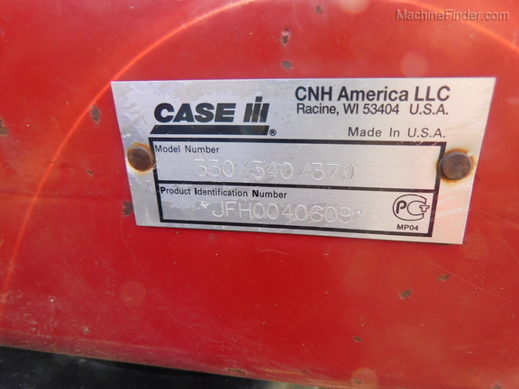 2012 Case IH 330 TURBO TILL Image 16