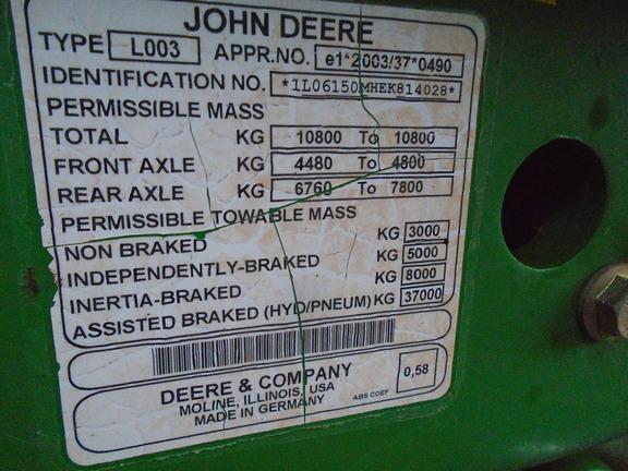 John Deere 6150M
