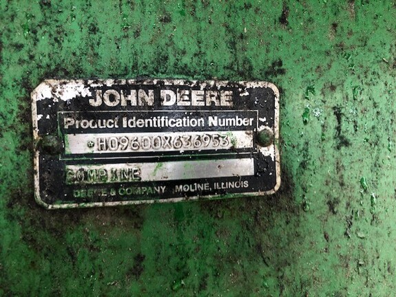 Photo of 1990 John Deere 9600