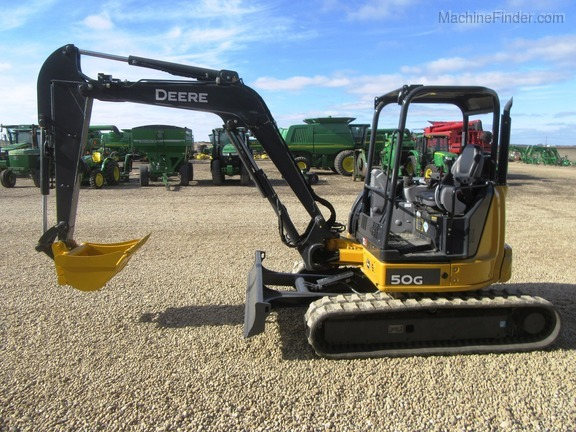 2017 John Deere 50G - Compact Excavators - John Deere MachineFinder