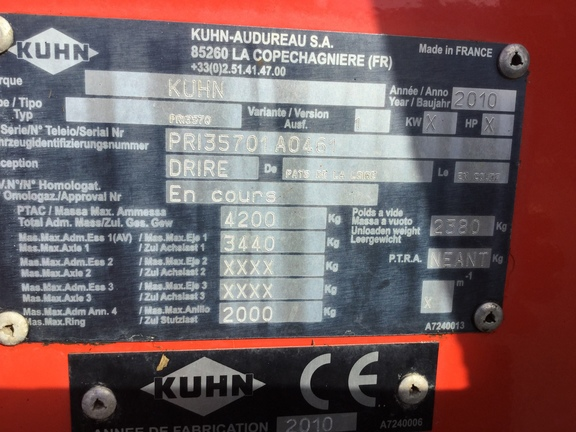 Kuhn PRIMOR 3570