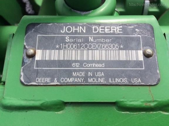 Photo of 2014 John Deere 612C