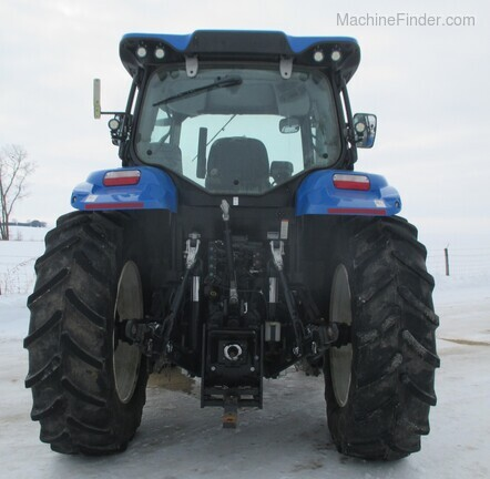 2017 New Holland T6.165 T4B Image 6