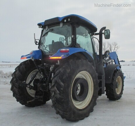 2017 New Holland T6.165 T4B Image 5