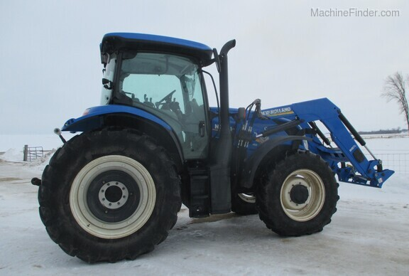 2017 New Holland T6.165 T4B Image 3