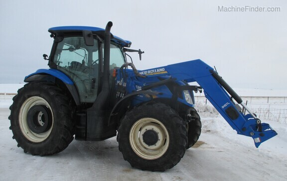 2017 New Holland T6.165 T4B Image 2