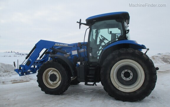 2017 New Holland T6.165 T4B Image 7
