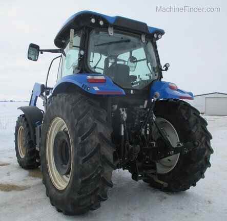 2017 New Holland T6.165 T4B Image 4