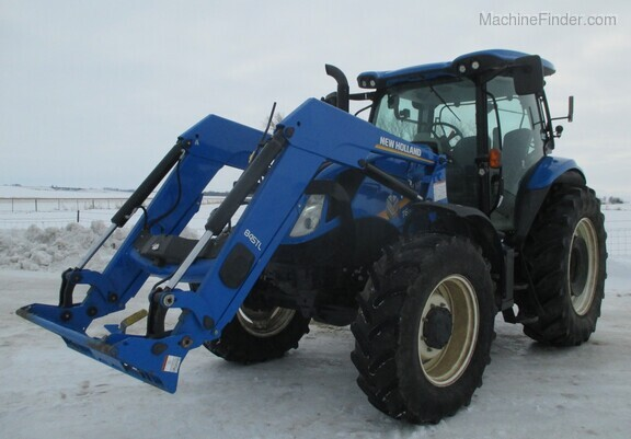 2017 New Holland T6.165 T4B Image 1