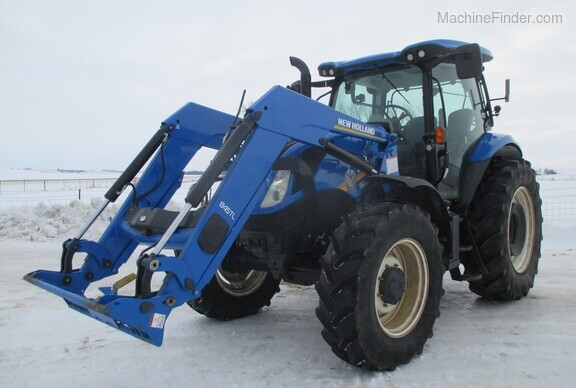 2017 New Holland T6.165 T4B Image 8