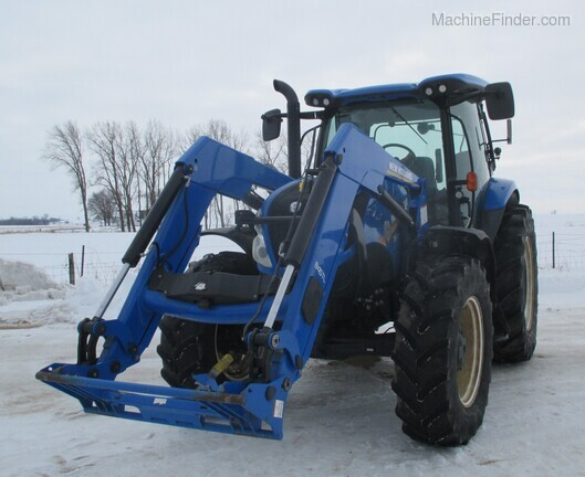 2017 New Holland T6.165 T4B Image 10