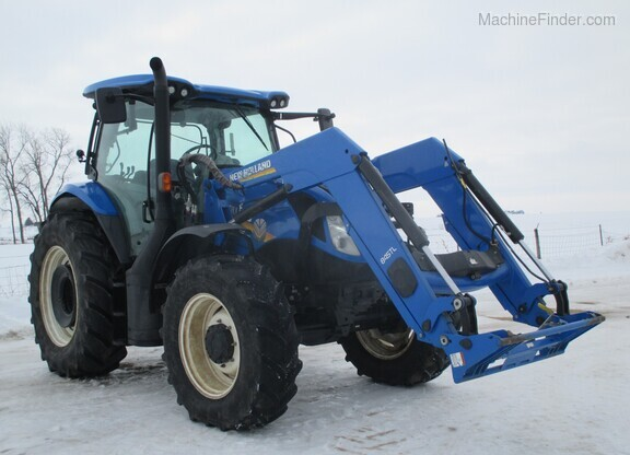 2017 New Holland T6.165 T4B Image 11