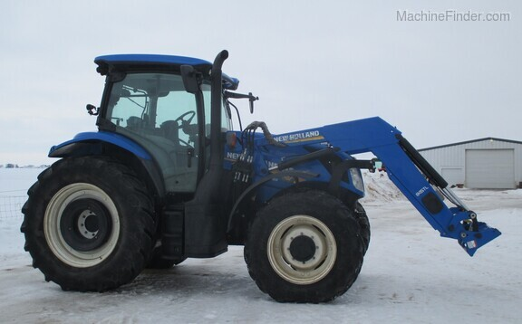 2017 New Holland T6.165 T4B Image 12