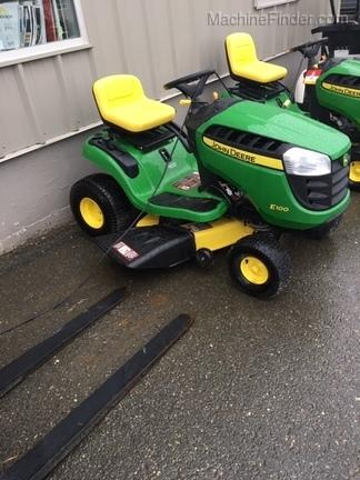 2018 John Deere E100 - Lawn & Garden Tractors - Woodstock, NB