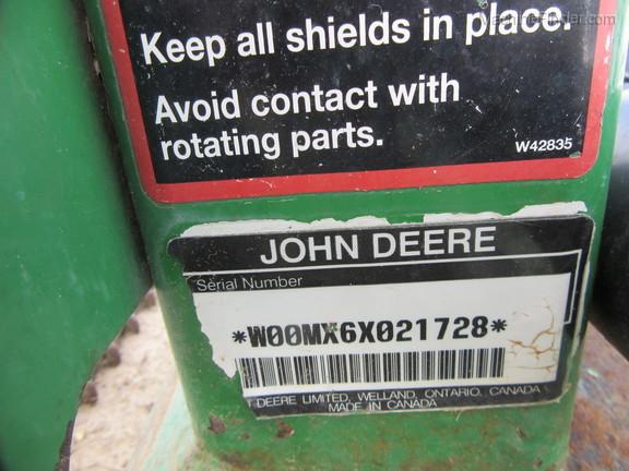 2006 John Deere MX6