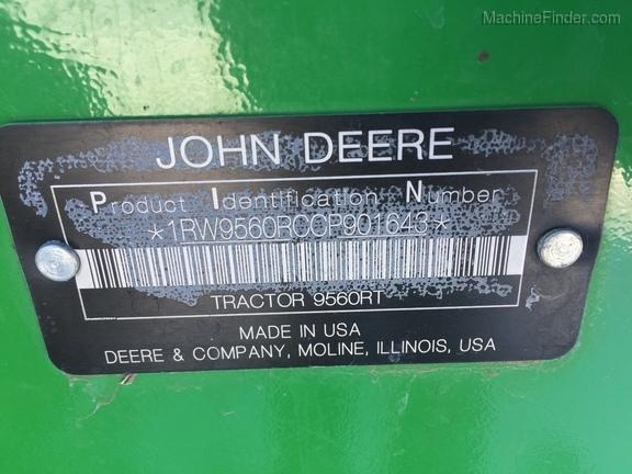 2012 John Deere 9560RT