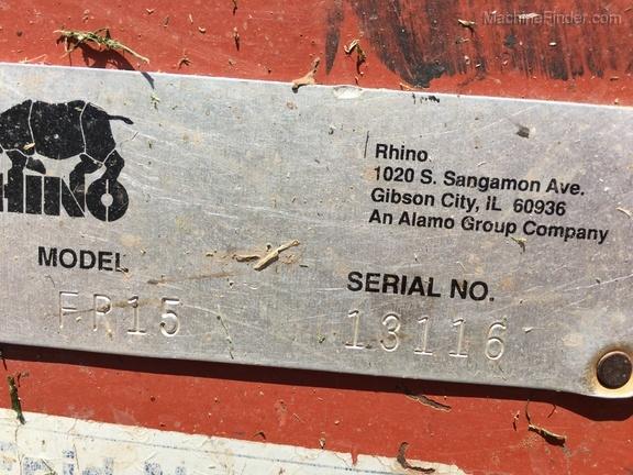 Rhino FR15 - Rotary Cutters: Heavy-Duty - Enid
