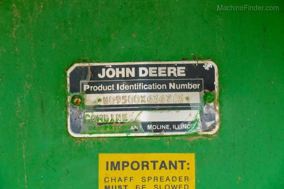 1989 John Deere 9500-32