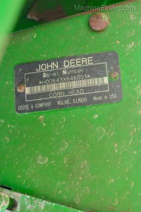 1992 John Deere 643-11
