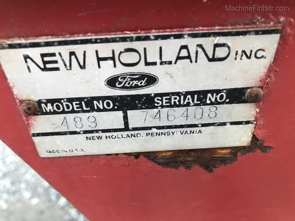 1987 New Holland 489 Image 3