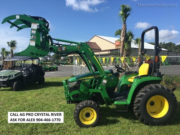 2018 John Deere 3025E GRAPPLE KIT