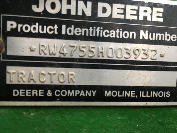 1998 John Deere 4755