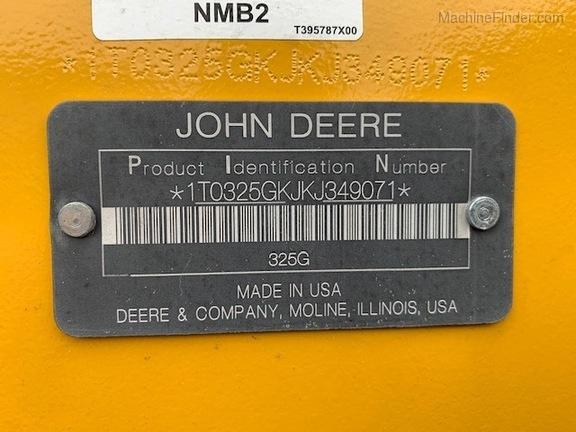 Pre-Owned John Deere 325G in St Cloud, FL Photo 6