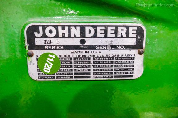 1958 John Deere 320-17