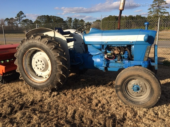 ford 4000 implements