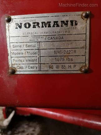 2010 Normand N86-282TR