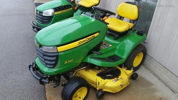 John Deere X320 Lawn  U0026 Garden Tractors For Sale