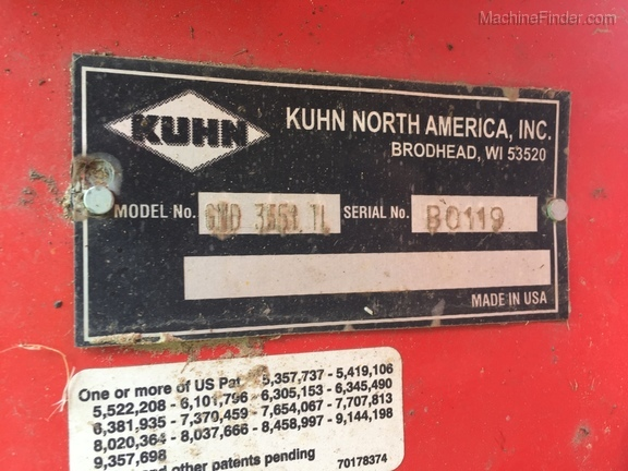 2019 Kuhn GMD 3551 Image 11