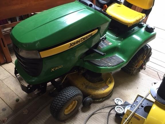 2007 John Deere X300 - Lawn & Garden Tractors - John Deere MachineFinder