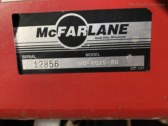 Photo of 2008 McFarlane RD-4025-RB