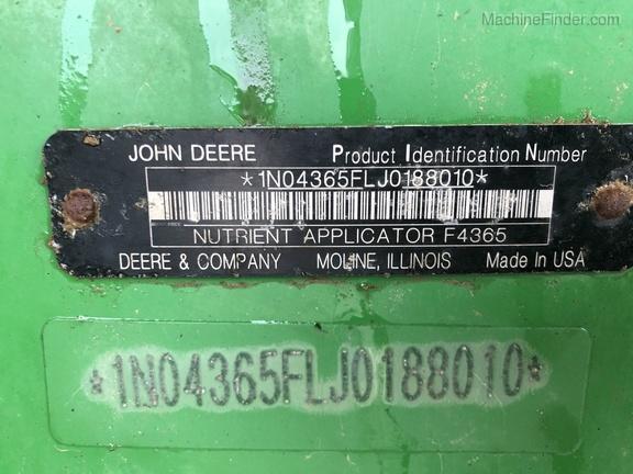 Photo of 2018 John Deere F4365