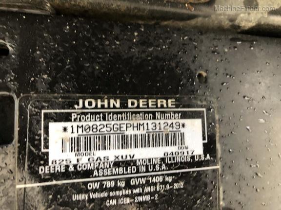 Photo of 2017 John Deere XUV 825M
