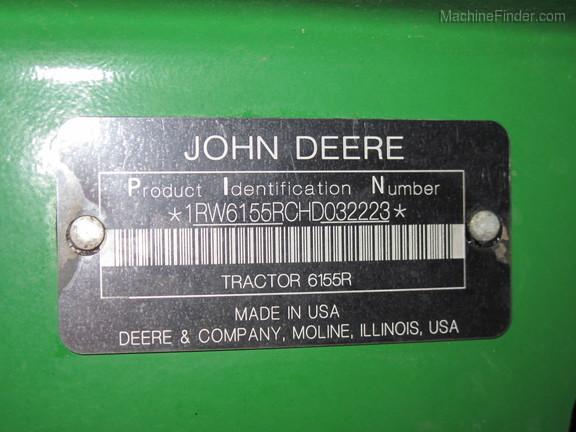 2018 John Deere 6155R