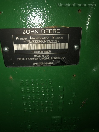 Photo of 2018 John Deere 8320R