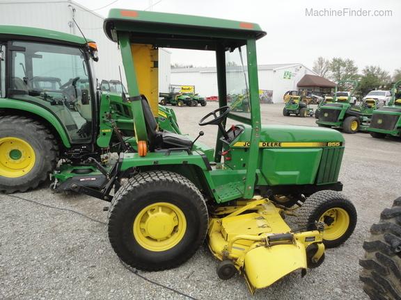 1998 John Deere 855 - Compact Utility Tractors - Woodburn, IN